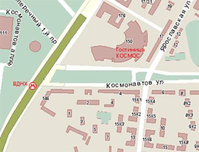 Расположение на карте и схема